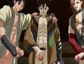 Hentai Gay com Orgia de Pauzudos