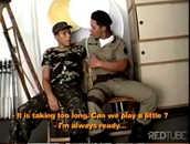 Sexo Gay Redtube com Soldados Militares Fardados